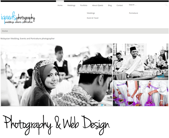 iQaeds photography and web design